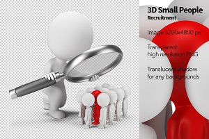 3D Small People - Recruitment