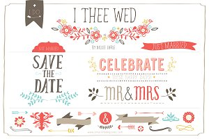 I Thee Wed (Clipart)