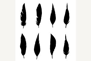 Feather set.