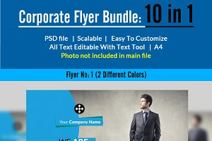 Corporate Flyer Bundle (10 in 1)