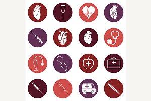 Medicine icons