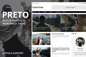 Preto WordPress Blog & Portfolio