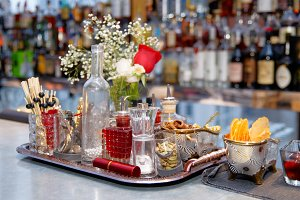 Stuff used for decorating cocktails