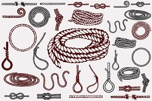 Set of ropes
