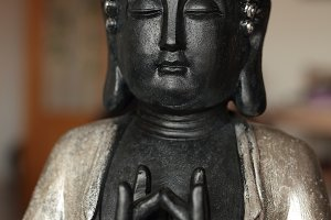 Buddha sitting in meditation