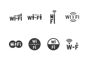 Wireless & wifi iconset