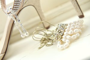 bridal jewelry & shoes #1