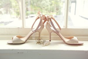 bridal jewelry & shoes #2