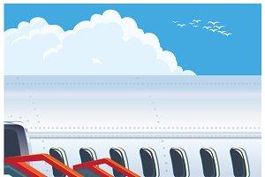 Jet Airliner mini Set