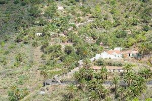 Quaint village in La Gomera.