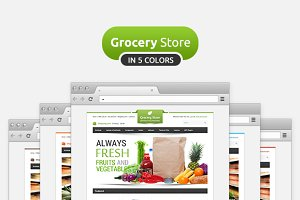 Grocery Store Premium OpenCart Theme