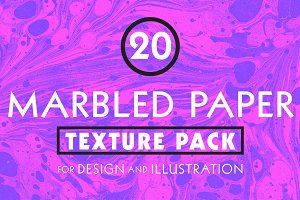 Marbled Paper Texture Pack