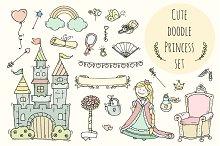 Cute fairytale set