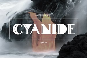 Cyanide Typeface
