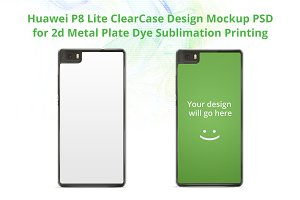 Huawei P8 Lite ClearCase Mock-up