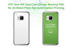 HTC One M9 ClearCase Mock-up