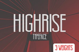 Highrise Typeface