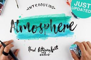 [%25OFF]Atmosphere Script Typeface