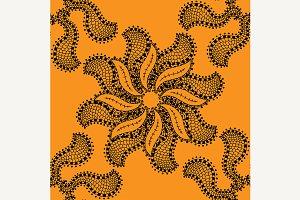 seamless beige pattern.