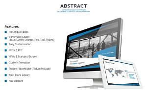 Abstract - Powerpoint Theme Template