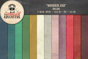 Solid Paper - Wonderland