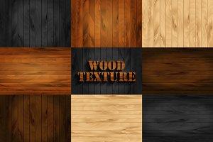 Set wood texture