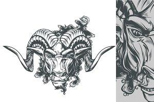 Aries ~ Illustrations ~ Creative Market