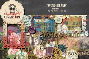 Embellishments - Wonderland