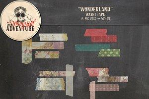 Washi Tape - Wonderland