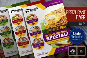 Restaurant Flyer Vol.04
