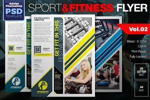 Sport & Fitness Flyer Vol.02
