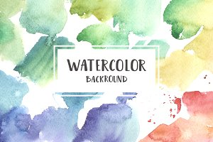 Watercolor backrounds