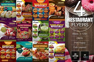 Restaurant Flyer Bundle