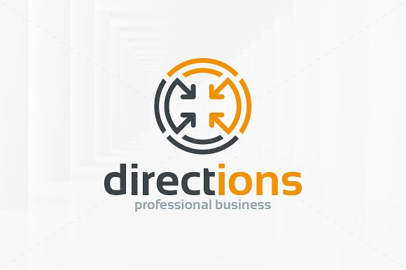 Directions Logo Template