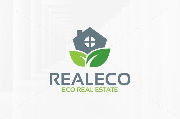 Eco Estate Logo Template