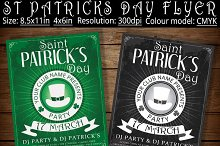 Vintage St Patricks Day Flyer Poster