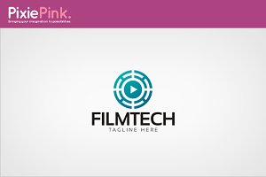 Film Tech Logo Template