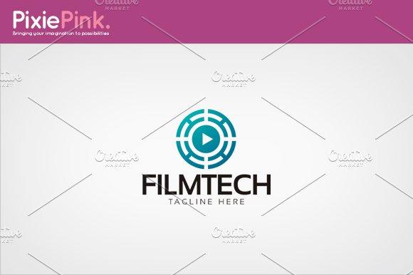 Film Tech Logo Template