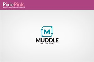 Muddle Logo Template