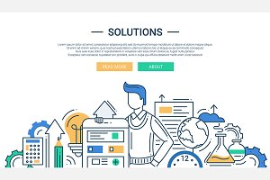 Business Solutions Website Header
