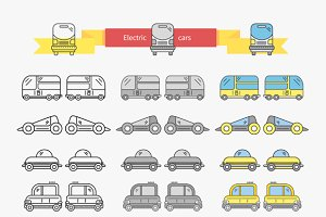 Electric Car Bus Concept