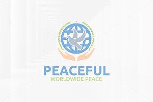 Peaceful Logo Template