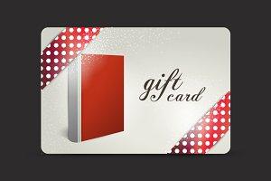 Gift card. Book design.