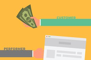Payment Order. Customer Performer