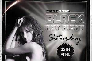 Black Hot Night Flyer
