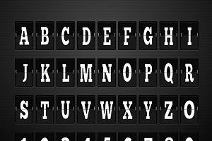 Scoreboard Alphabet and Set