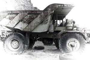 Industrial vehicle vestige