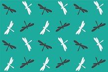 Dragonfly, pattern