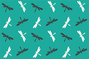 Dragonfly, pattern