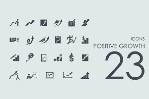 23 Positive Growth icons
